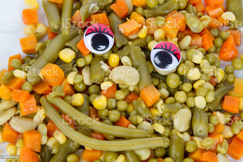 Eat yout Vegtables royalty-free stock photo