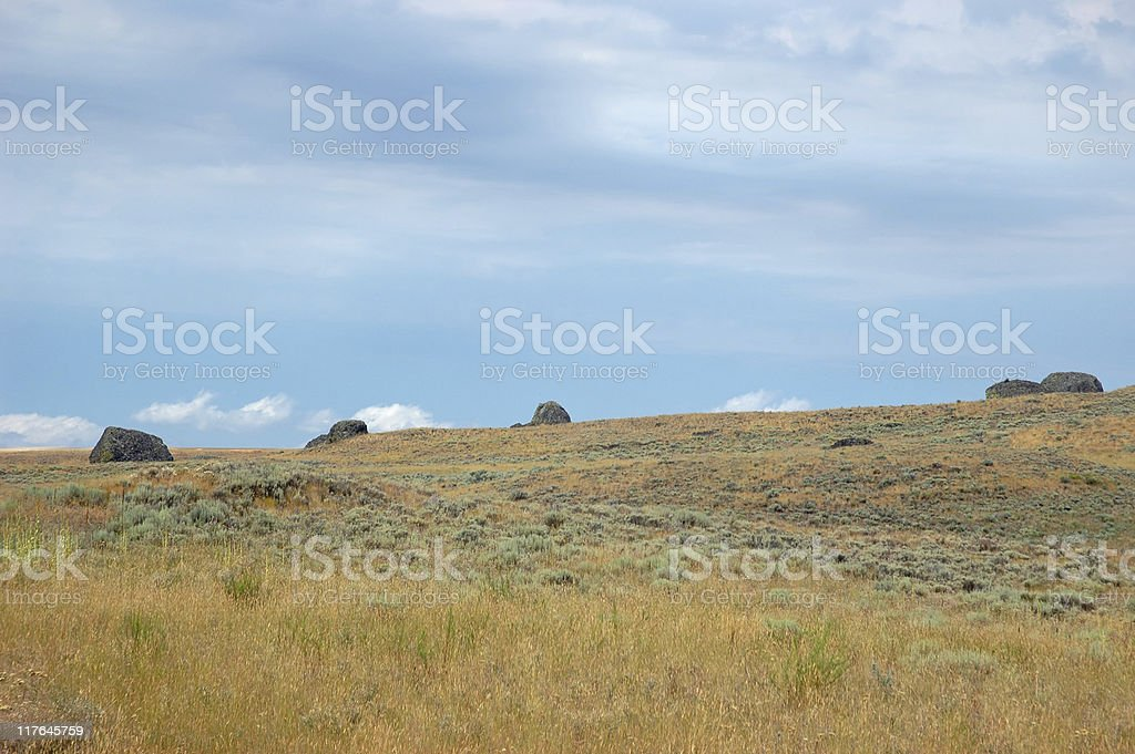 Eatern Washington steppe royalty-free stock photo