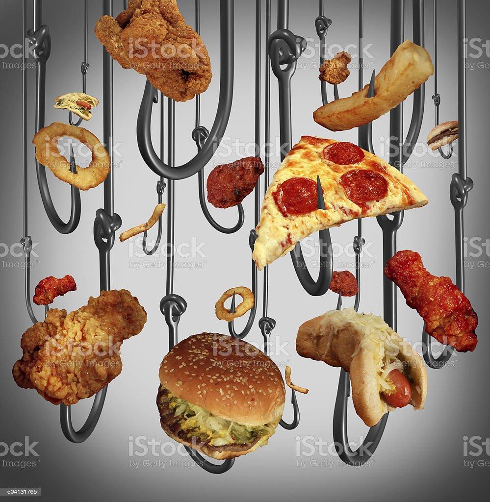 Eating Addiction stock photo
