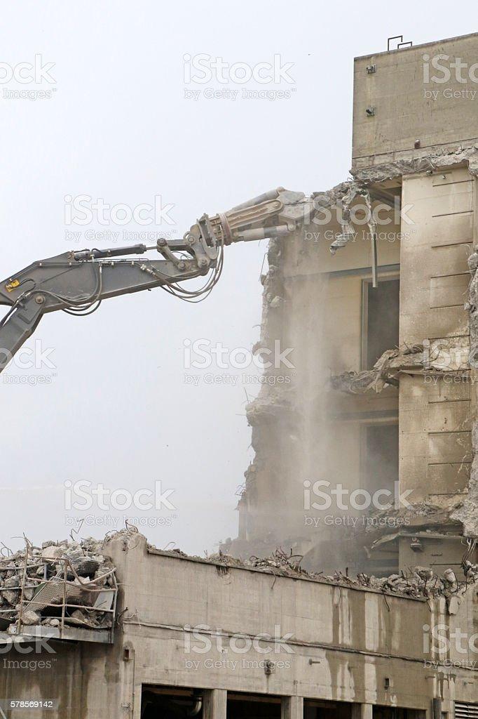 Eating Concrete stock photo