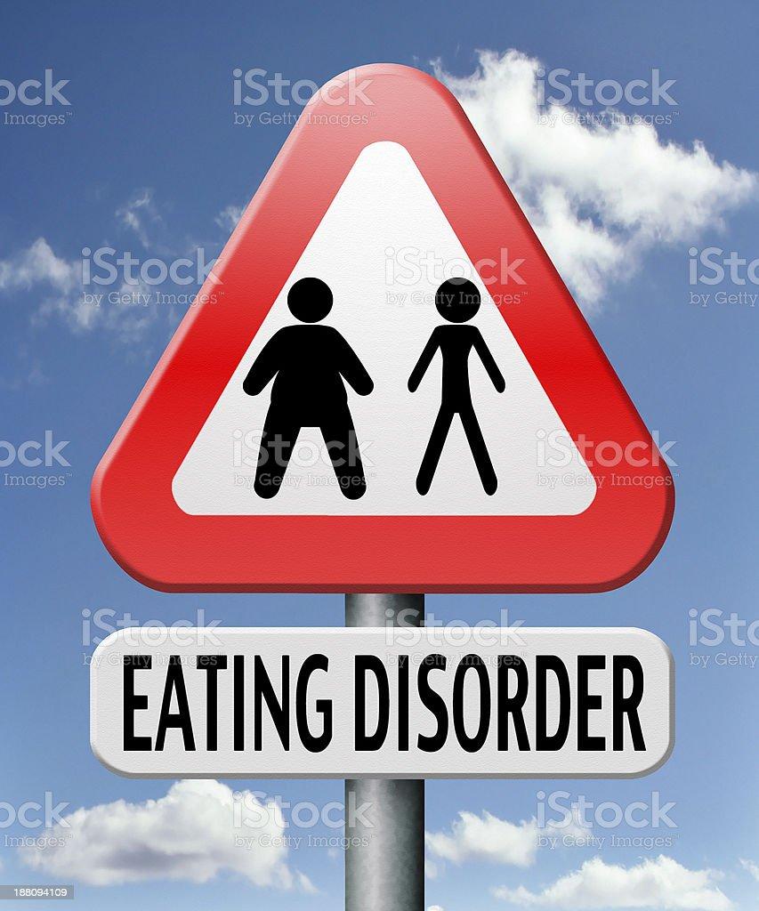 eating disorder royalty-free stock photo