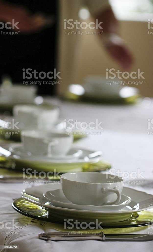 eating green royalty-free stock photo