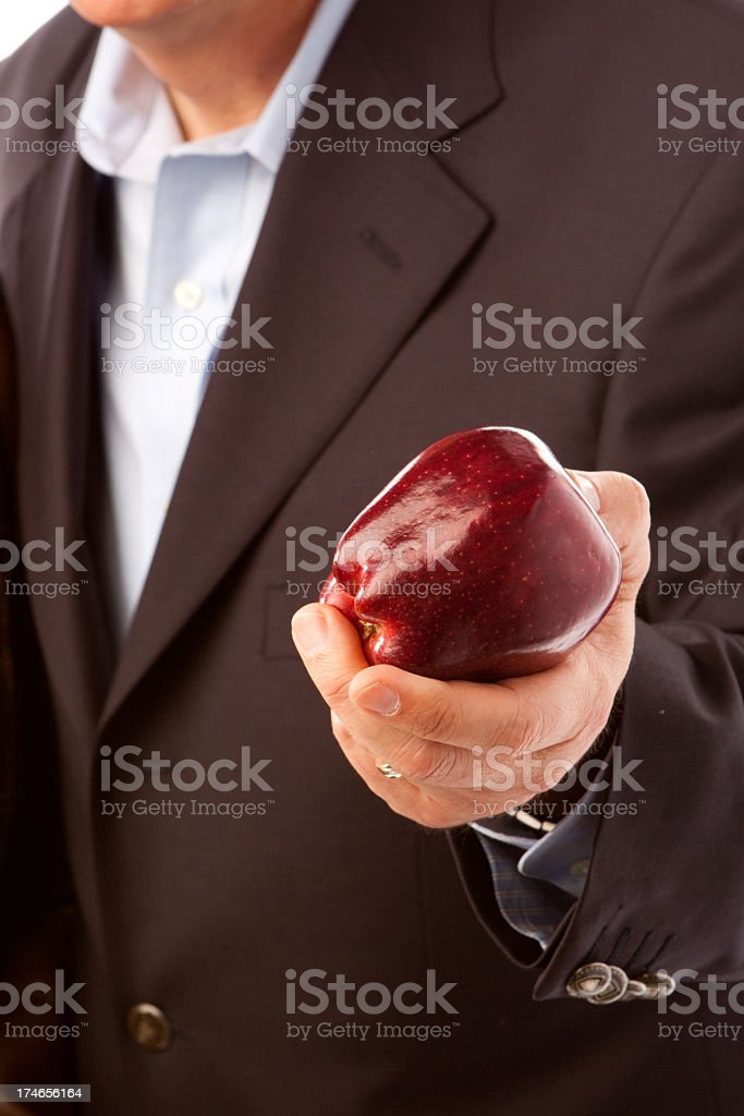 Eating healthy royalty-free stock photo