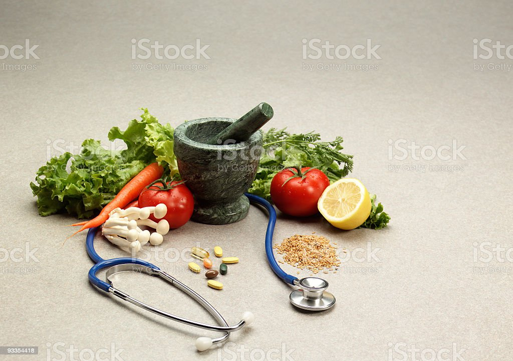 Eating Healthy stock photo