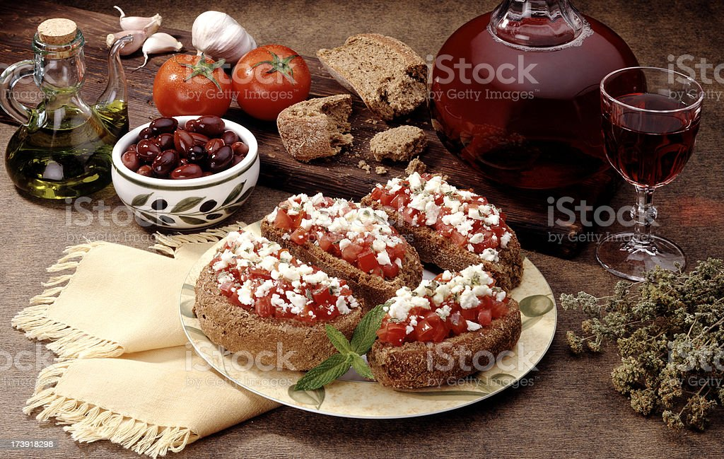 Eating local products royalty-free stock photo