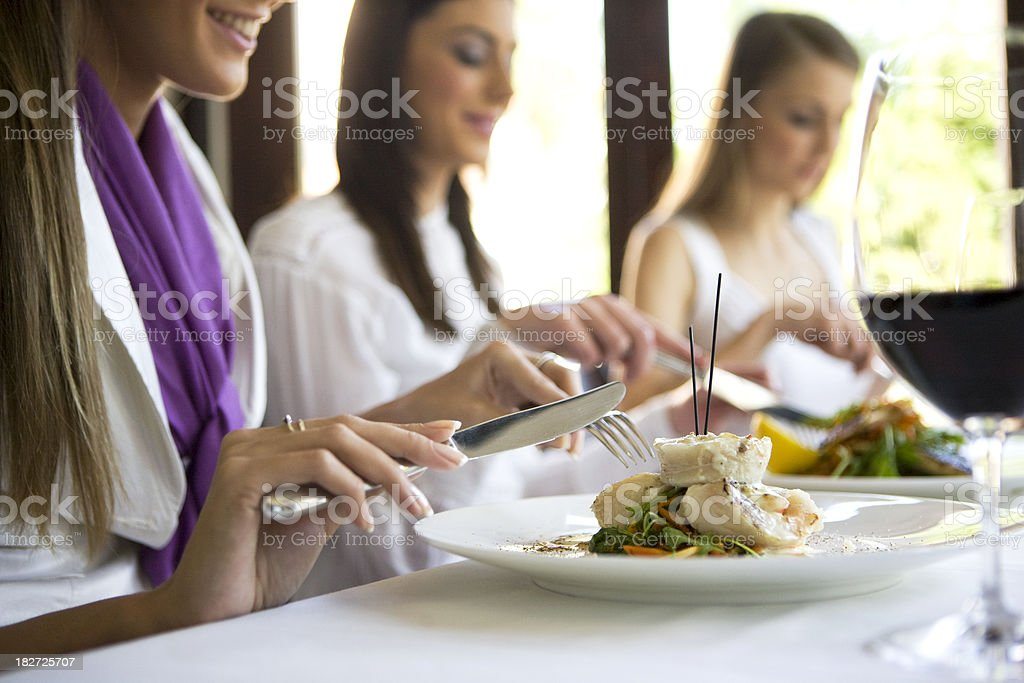 Eating stock photo