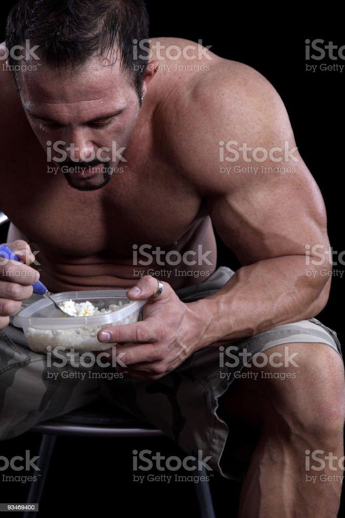 Eating stock photo