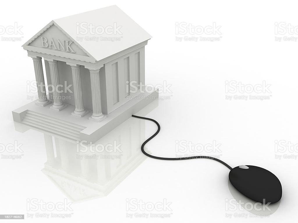 E-Banking royalty-free stock photo