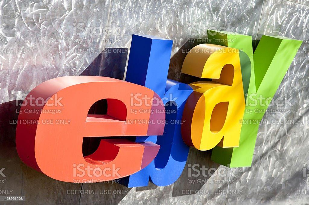 eBay Headquarters San Jose royalty-free stock photo