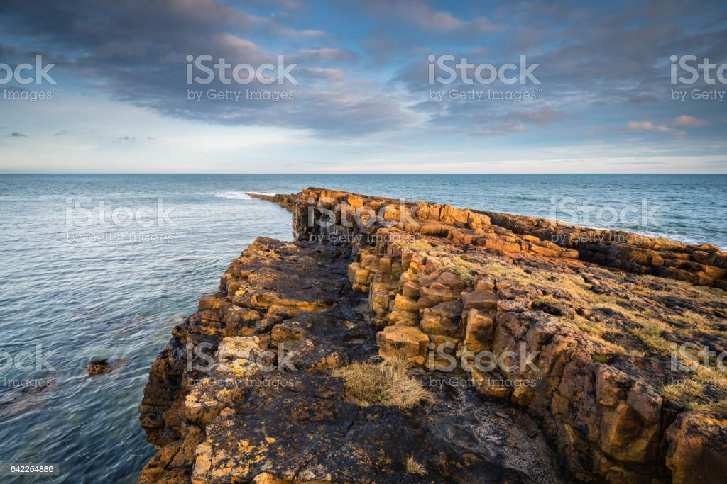 Ebb's Nook at Beadnell stock photo