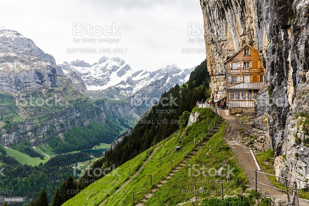 Ebenalp, Appenzell, Switzerland stock photo