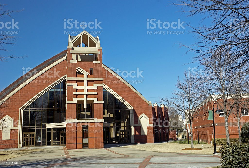Ebenezer Baptist Church Atlanta stock photo
