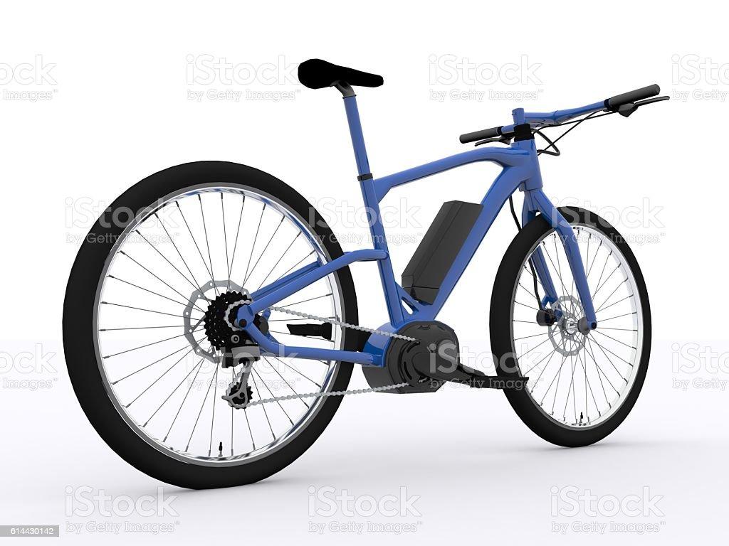 E-Bike isolated stock photo