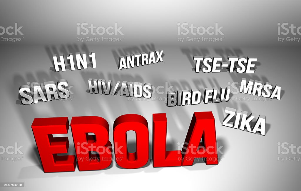 Ebola and other Health Scares stock photo