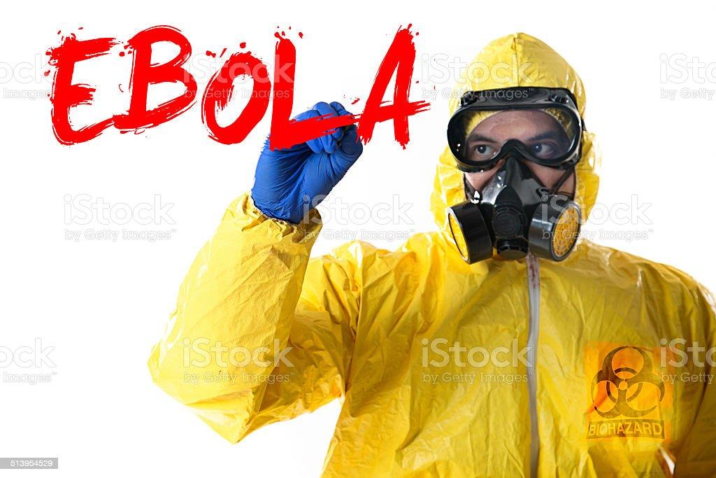 Ebola Virus Disease stock photo