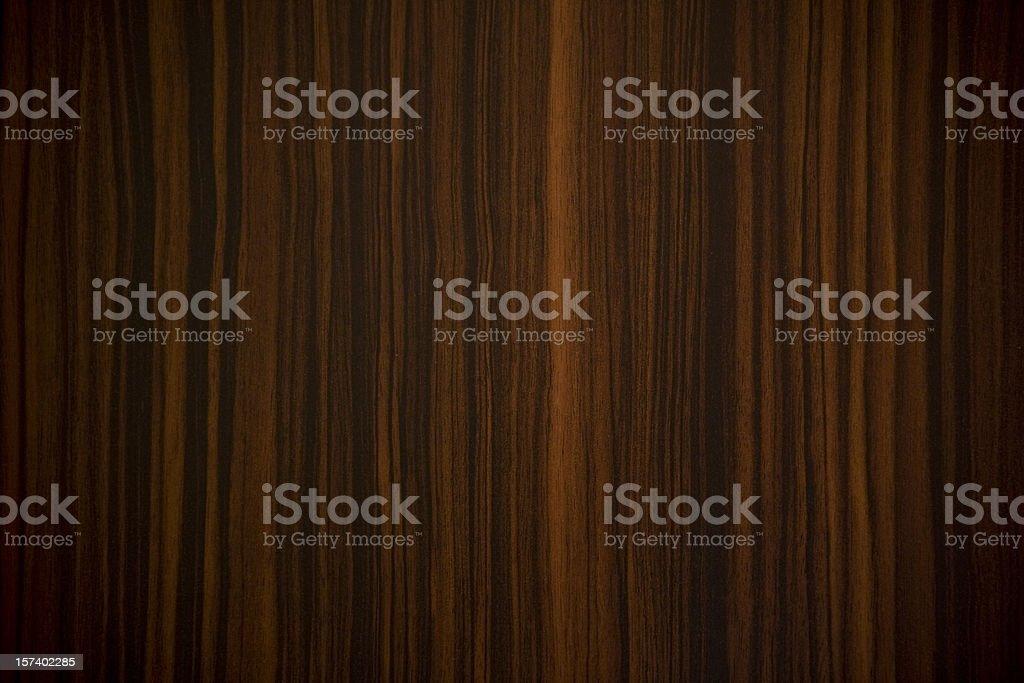 Ebony wood background with vertical stripes stock photo