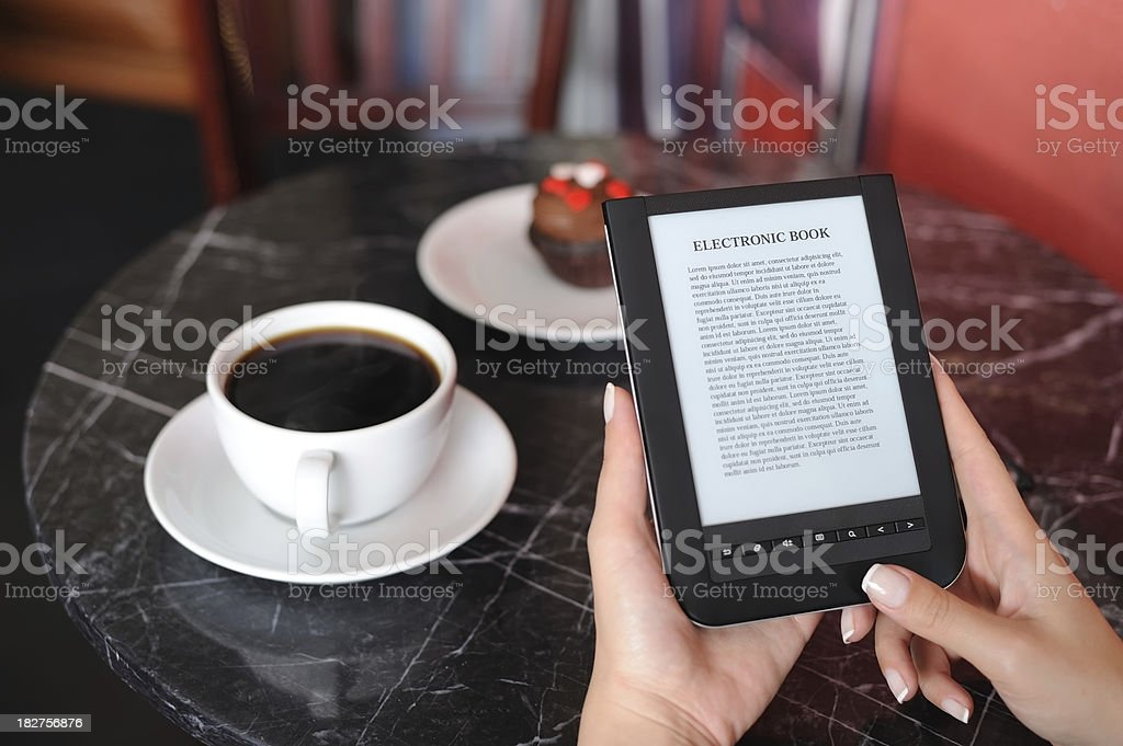 e-book royalty-free stock photo