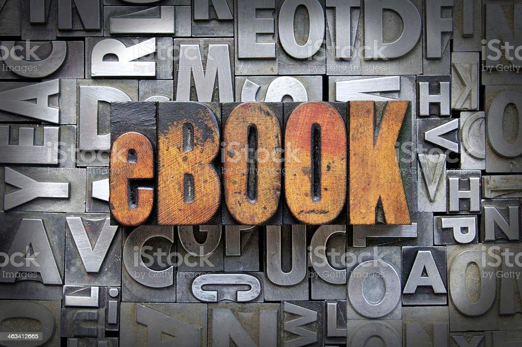 eBook stock photo