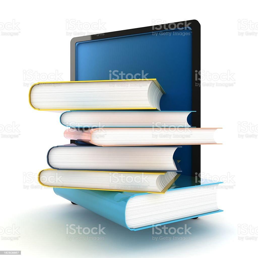 E-Book Reader royalty-free stock photo