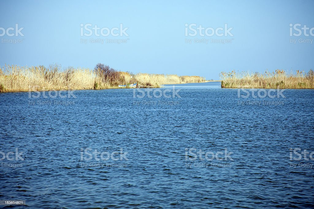 Ebro River stock photo