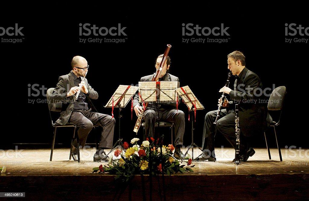 Trio Eccentrico stock photo