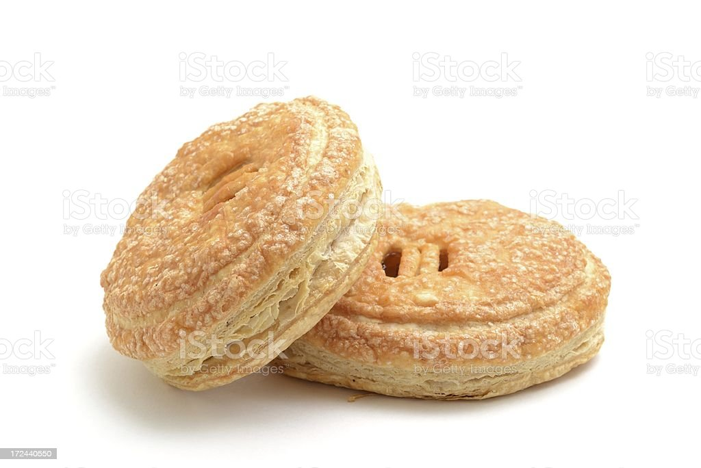 Eccles cakes royalty-free stock photo
