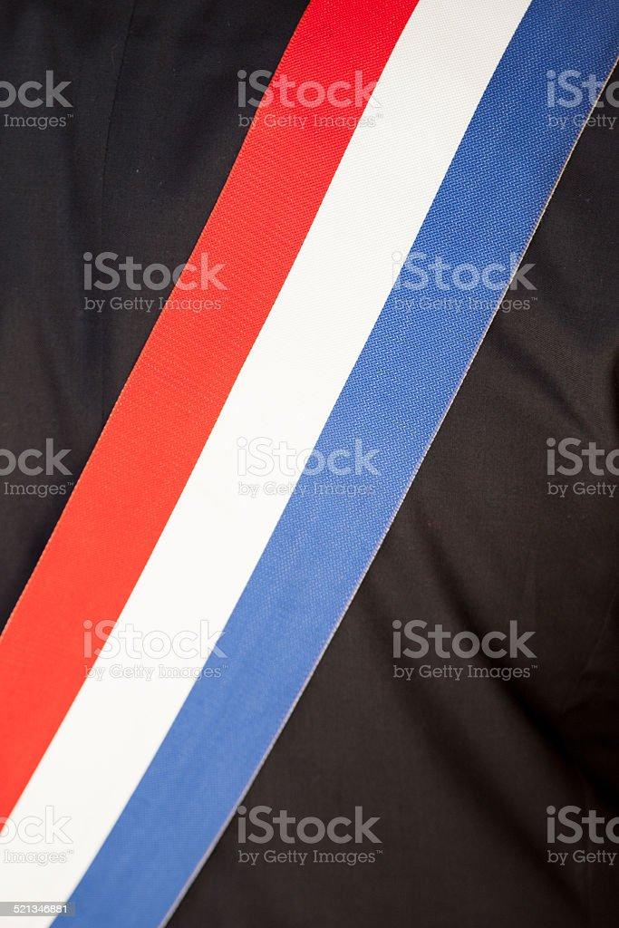 Echarpe de maire stock photo
