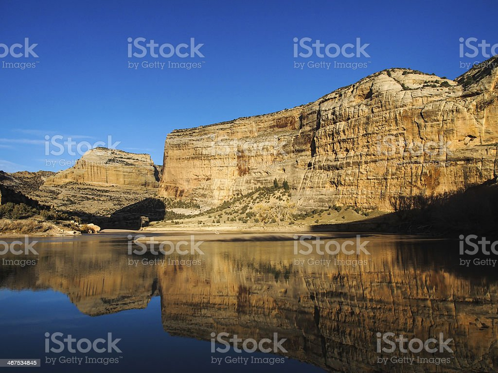 Echo Park in Dinosaur National Monument royalty-free stock photo
