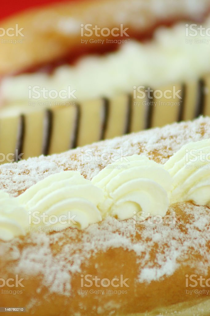 Eclairs stock photo