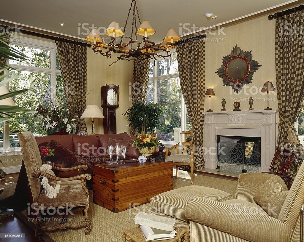 Eclectic Livingroom royalty-free stock photo