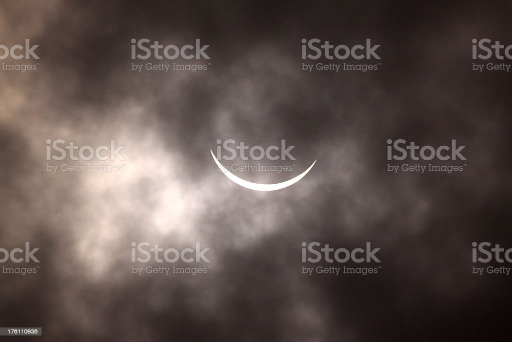 Eclipse of the sun royalty-free stock photo