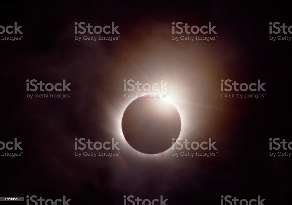 Eclipse royalty-free stock photo