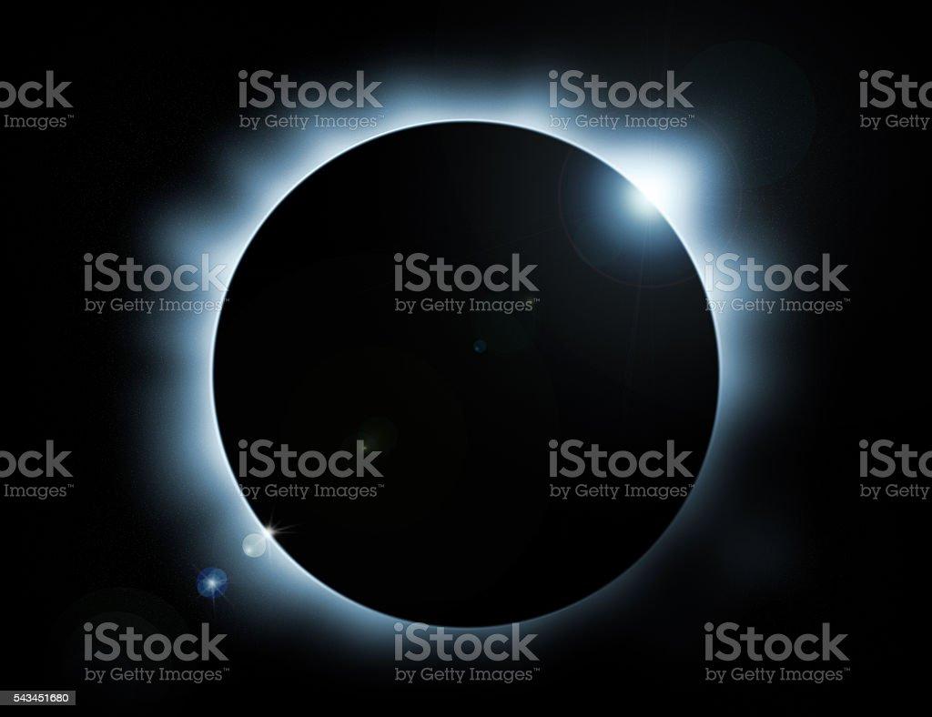 eclipse stock photo