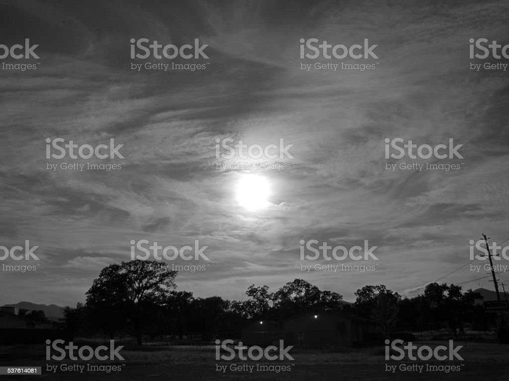 Eclispe An Astronomical Event stock photo