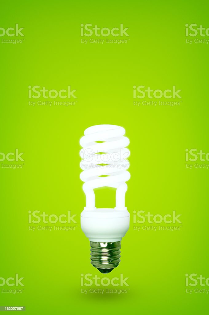 Eco bulb royalty-free stock photo
