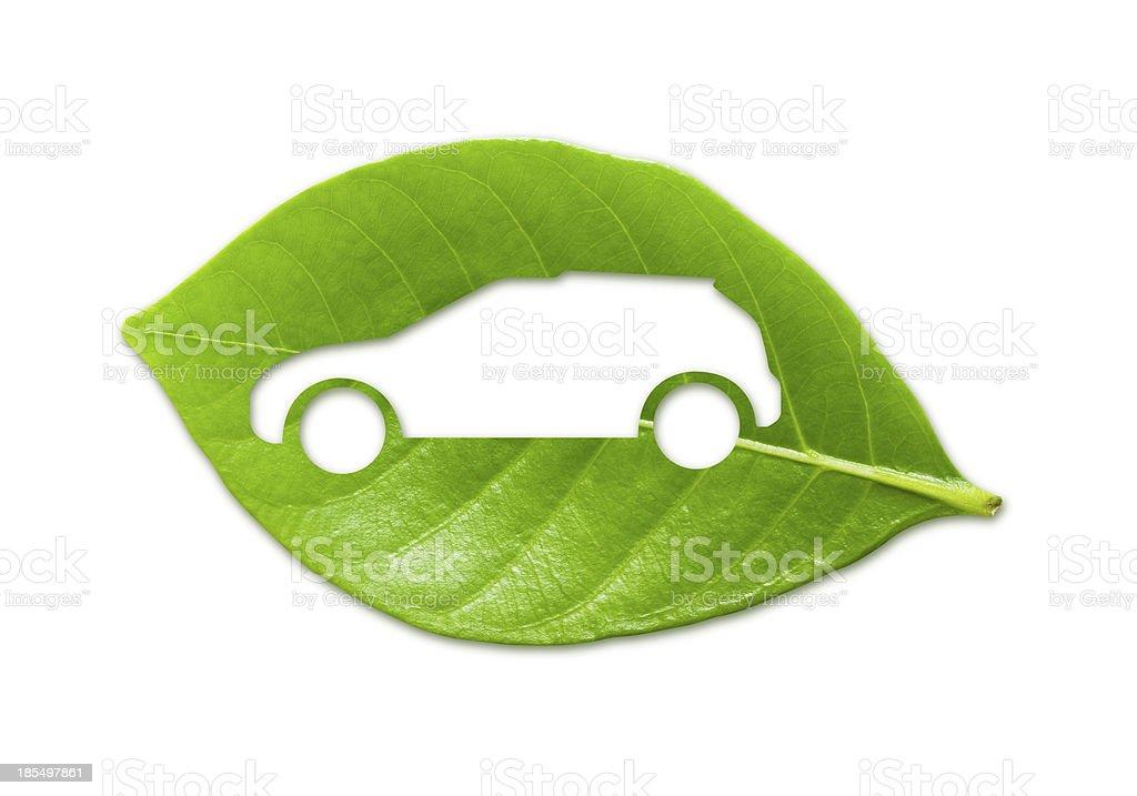 Eco Car II royalty-free stock photo