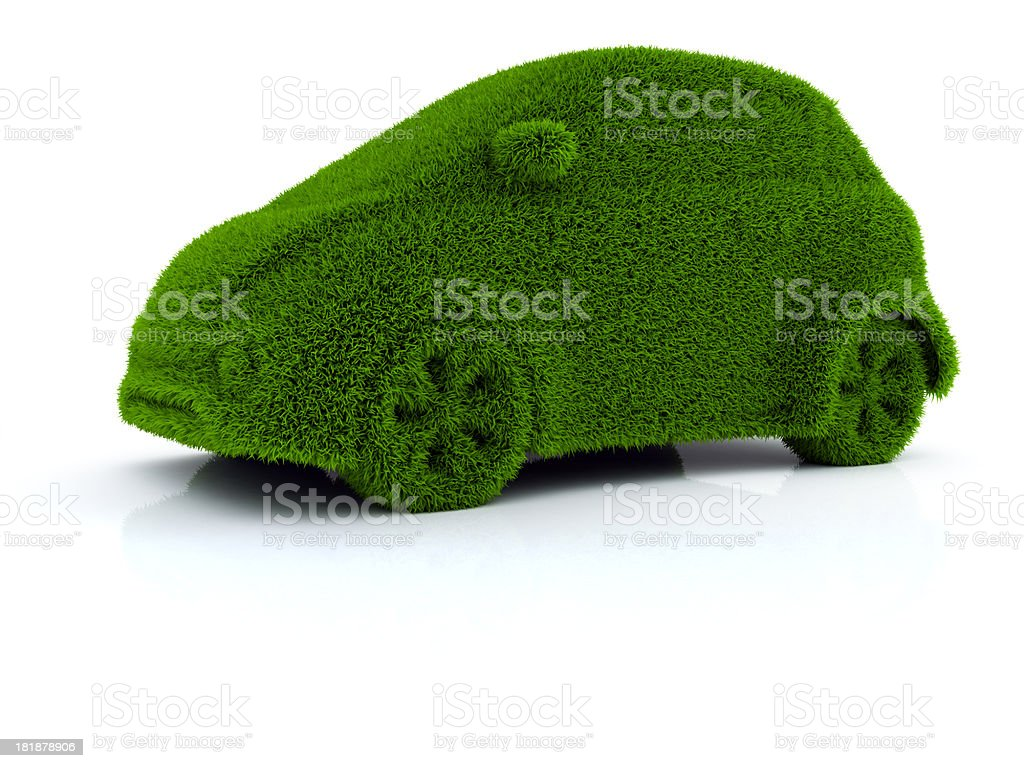 Eco Car royalty-free stock photo