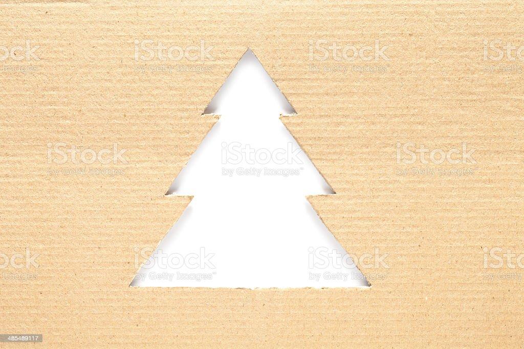 Eco christmas royalty-free stock photo