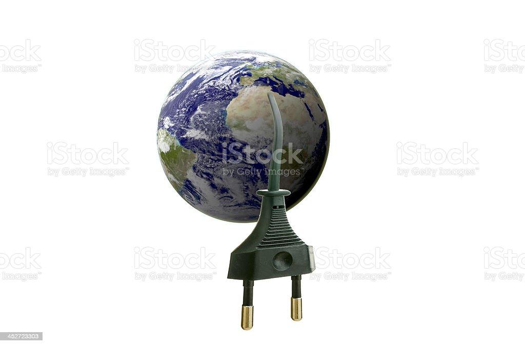 Eco Earth royalty-free stock photo