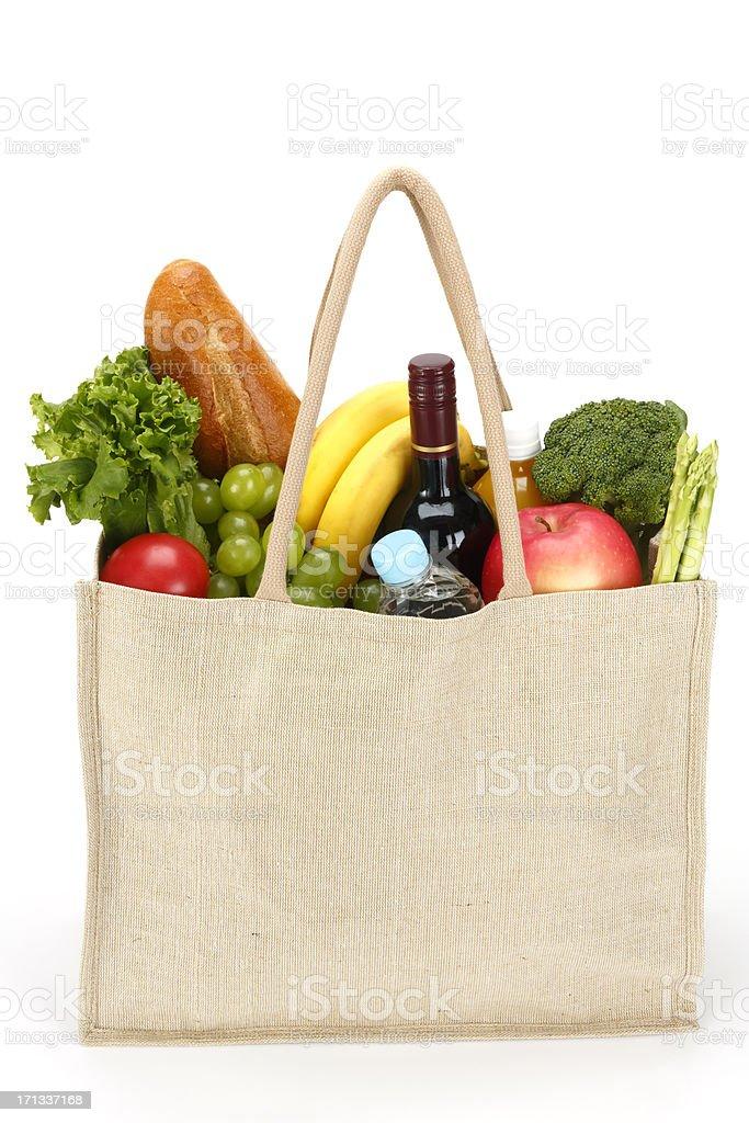Eco Friendly Shopping bag stock photo