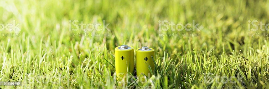 Eco Green Energy stock photo