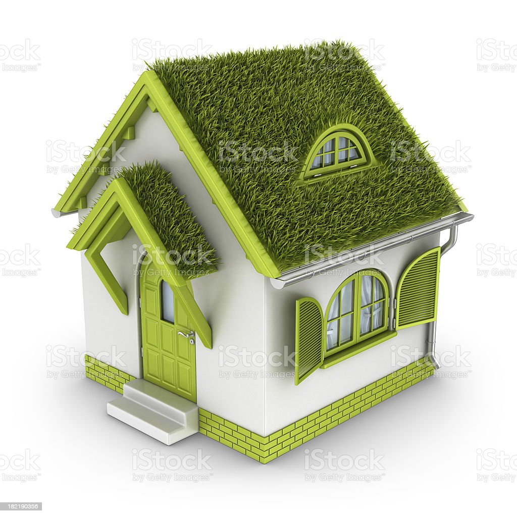 eco house royalty-free stock photo