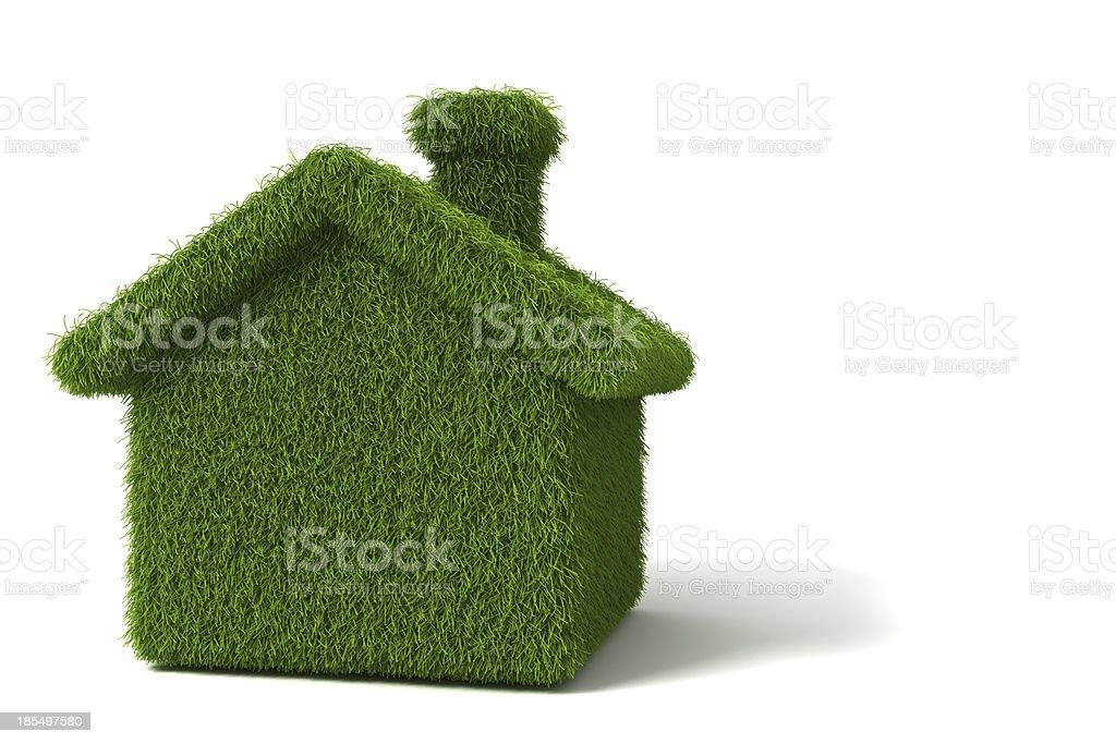 Eco house. stock photo