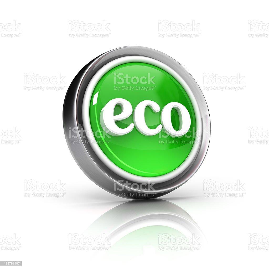 eco icon royalty-free stock photo