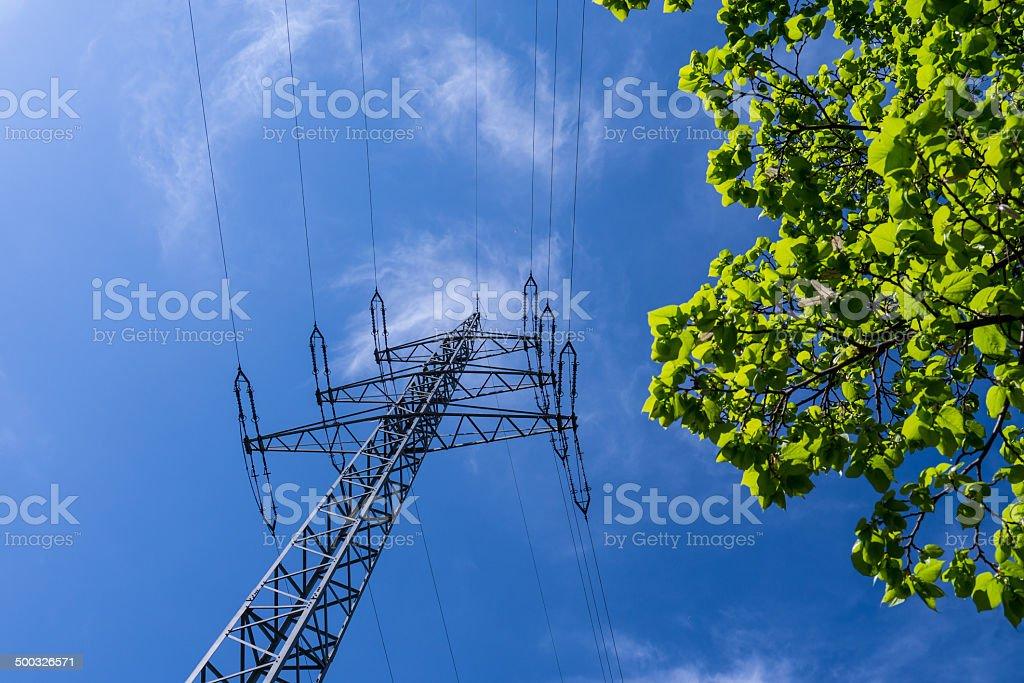 eco power stock photo