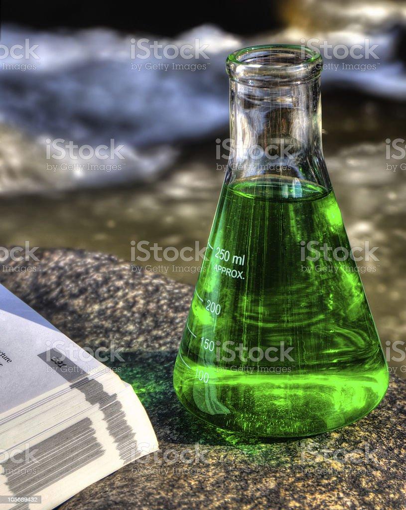 Eco Science royalty-free stock photo