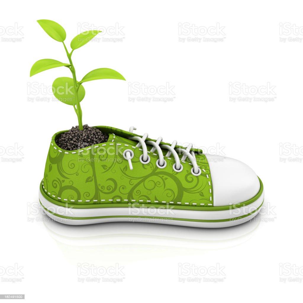 eco shoe royalty-free stock photo