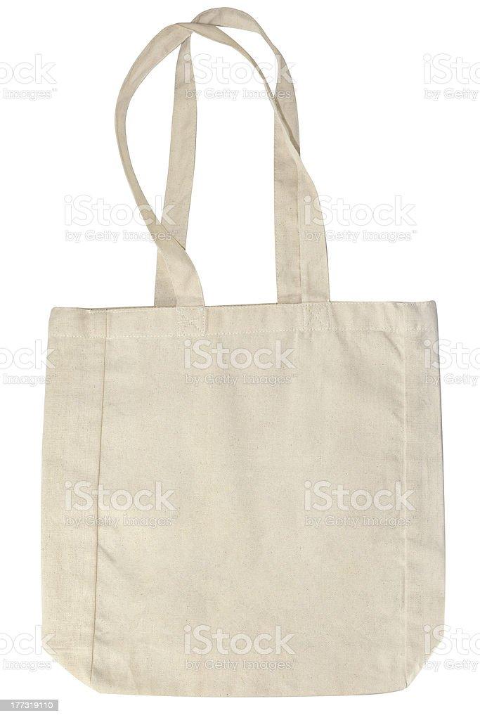 eco textile bag royalty-free stock photo