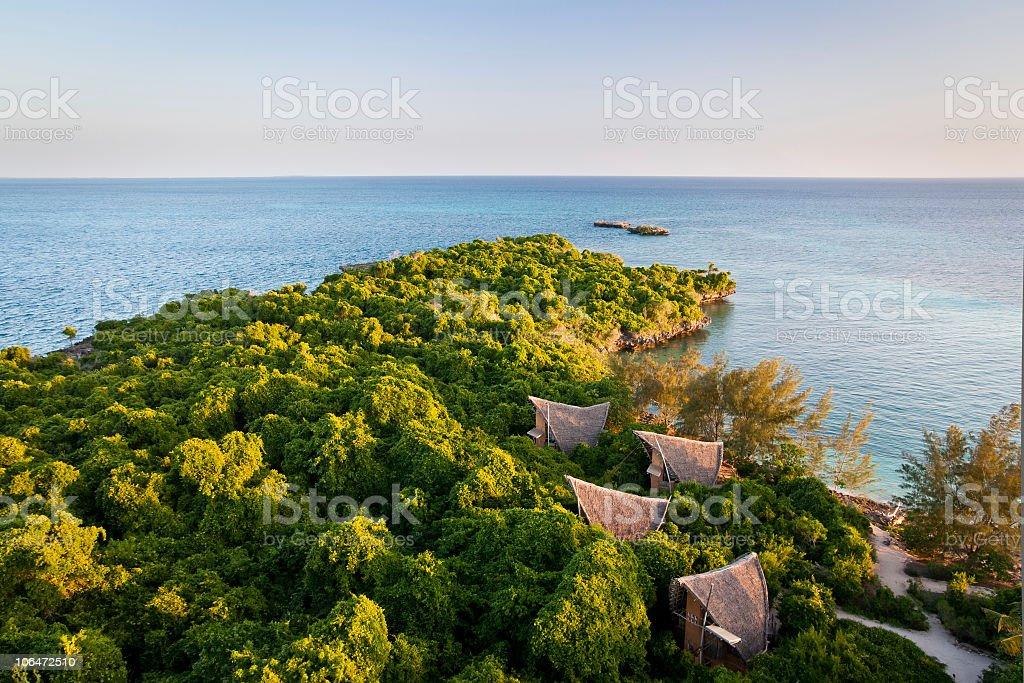 Eco Tourism Island stock photo