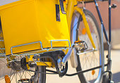 Eco transport in yellow
